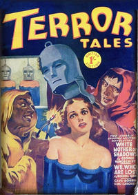 Cover Thumbnail for Terror Tales (Arnold Book Company, 1950 ? series)