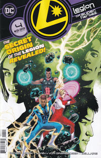 Cover Thumbnail for Legion of Super-Heroes (DC, 2020 series) #4