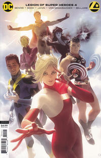 Cover Thumbnail for Legion of Super-Heroes (DC, 2020 series) #4 [Alex Garner Cardstock Cover]