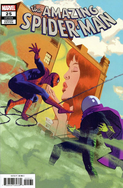 Cover for Amazing Spider-Man (Marvel, 2018 series) #25 (826) [Blank Cover]