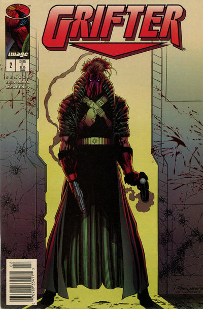 Cover for Grifter (Image, 1995 series) #2 [Direct]