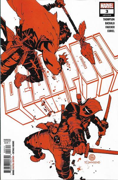 Cover for Deadpool (Marvel, 2020 series) #3 (318)
