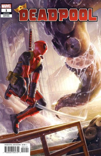 Cover for Deadpool (Marvel, 2020 series) #1 (316) [John Tyler Christopher]
