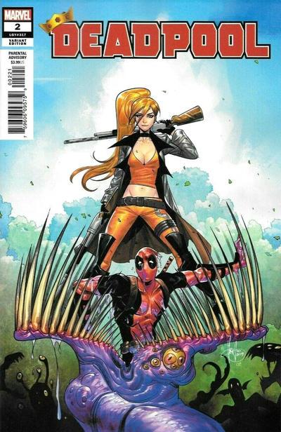 Cover for Deadpool (Marvel, 2020 series) #2 (317)
