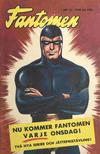 Cover for Fantomen (Semic, 1963 series) #15/1958