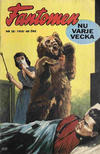 Cover for Fantomen (Semic, 1963 series) #28/1958