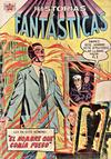 Cover for Historias Fantásticas (Editorial Novaro, 1958 series) #4