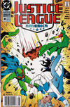 Cover for Justice League America (DC, 1989 series) #38 [Newsstand]