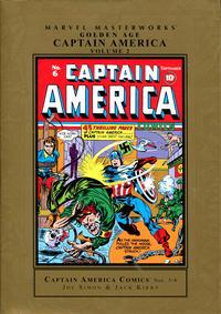 Cover Thumbnail for Marvel Masterworks: Golden Age Captain America (Marvel, 2005 series) #2 [Regular Edition]