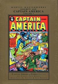 Cover Thumbnail for Marvel Masterworks: Golden Age Captain America (Marvel, 2005 series) #3 [Regular Edition]