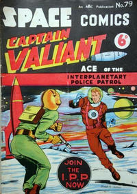 Cover Thumbnail for Space Comics (Arnold Book Company, 1953 series) #79
