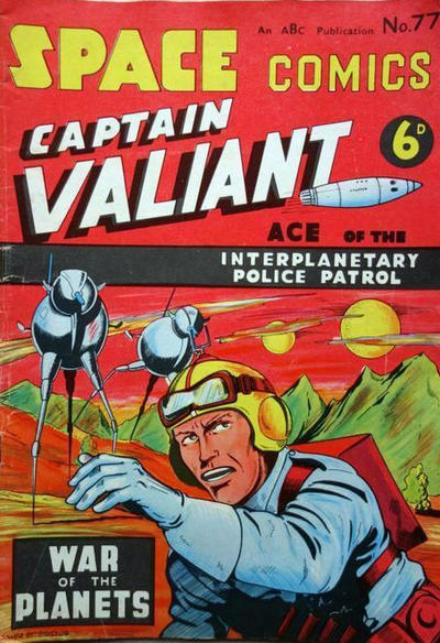 Cover for Space Comics (Arnold Book Company, 1953 series) #77