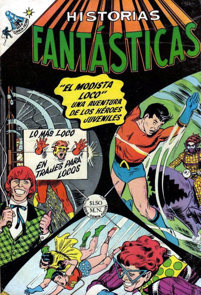 Cover for Historias Fantásticas (Editorial Novaro, 1958 series) #199