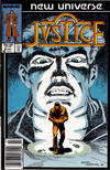 Cover for Justice (Marvel, 1986 series) #9 [Newsstand]