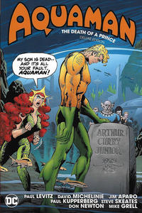 Cover Thumbnail for Aquaman: The Death of a Prince Deluxe Edition (DC, 2020 series)