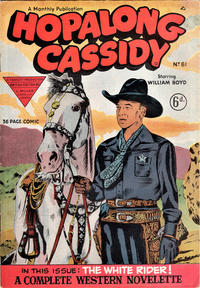 Cover Thumbnail for Hopalong Cassidy Comic (L. Miller & Son, 1950 series) #61