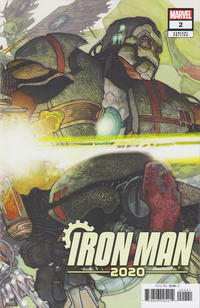 Cover Thumbnail for Iron Man 2020 (Marvel, 2020 series) #2 [Simone Bianchi 'Connecting' Cover]
