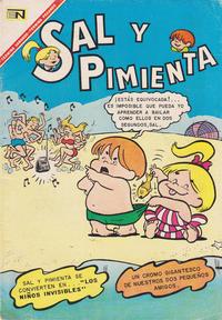 Cover Thumbnail for Sal y Pimienta (Editorial Novaro, 1964 series) #30