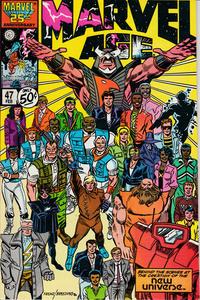 Cover Thumbnail for Marvel Age (Marvel, 1983 series) #47