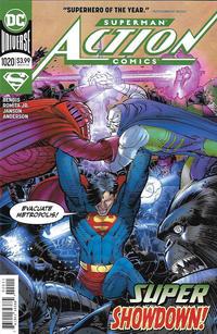 Cover Thumbnail for Action Comics (DC, 2011 series) #1020 [John Romita Jr. & Klaus Janson Cover]