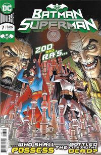 Cover Thumbnail for Batman / Superman (DC, 2019 series) #7 [Nick Derington Cover]