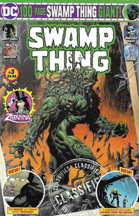 Cover Thumbnail for Swamp Thing Giant (DC, 2019 series) #3 [Direct Market Edition]