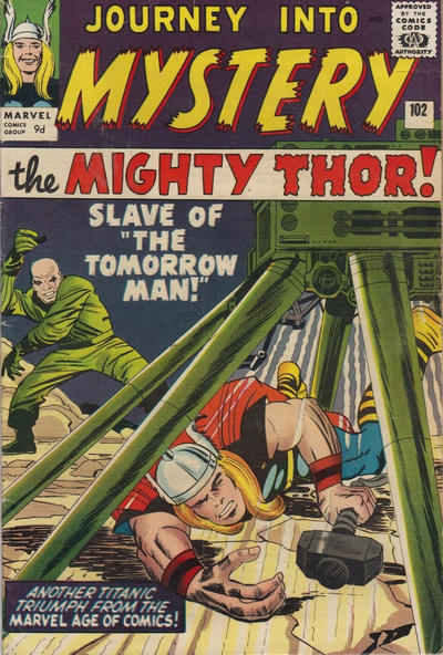 Cover for Journey into Mystery (Marvel, 1952 series) #102