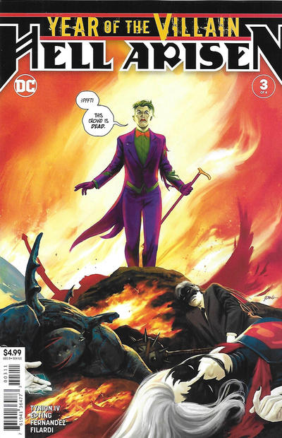 Cover for Year of the Villain: Hell Arisen (DC, 2020 series) #3 [Steve Epting Cover]
