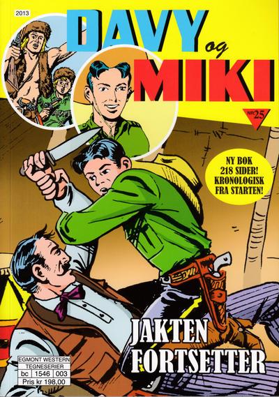 Cover for Davy og Miki (Hjemmet / Egmont, 2014 series) #25