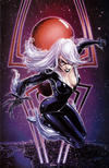 Cover for Amazing Spider-Man (Marvel, 2018 series) #1 (802) [Variant Edition - Clayton Crain Exclusive - Black Cat]