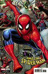 Cover for Amazing Spider-Man (Marvel, 2018 series) #32 (833) [Variant Edition - Arthur Adams Connecting Cover]