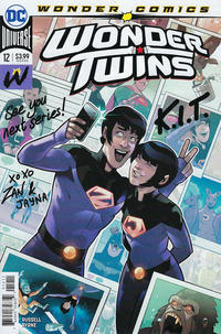 Cover Thumbnail for Wonder Twins (DC, 2019 series) #12