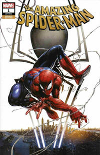 Cover Thumbnail for Amazing Spider-Man (Marvel, 2018 series) #1 (802) [Variant Edition - Clayton Crain Exclusive]