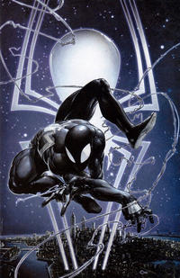 Cover Thumbnail for Amazing Spider-Man (Marvel, 2018 series) #1 (802) [Variant Edition - Clayton Crain Exclusive - Black Costume]