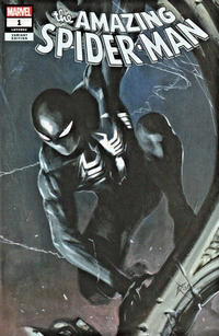 Cover for Amazing Spider-Man (Marvel, 2018 series) #1 (802) [Variant Edition - Comic Sketch Art Exclusive - Adam Hughes Black and White Cover]