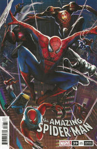 Cover Thumbnail for Amazing Spider-Man (Marvel, 2018 series) #39 (840) [Variant Edition - Chinese New Year - Jie Yuan Cover]