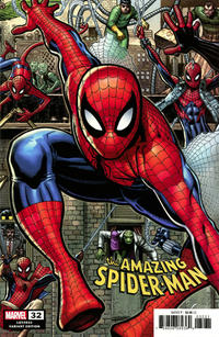 Cover Thumbnail for Amazing Spider-Man (Marvel, 2018 series) #32 (833) [Variant Edition - Arthur Adams Connecting Cover]