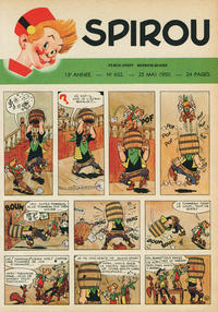 Cover Thumbnail for Spirou (Dupuis, 1947 series) #632