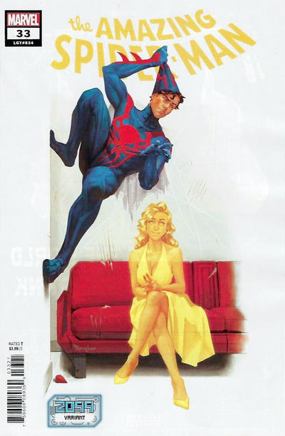 Cover for Amazing Spider-Man (Marvel, 2018 series) #33 (834) [Variant Edition - Sami Basri Cover]