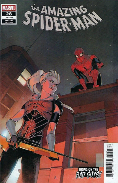 Cover for Amazing Spider-Man (Marvel, 2018 series) #28 (829)