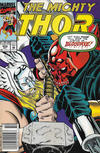 Cover for Thor (Marvel, 1966 series) #452 [Newsstand]