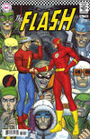 Cover Thumbnail for The Flash (2016 series) #750 [1960s Variant Cover by Nick Derington]
