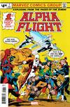 Cover for Alpha Flight #1 Facsimile Edition (Marvel, 2019 series)