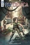 Cover for Pandemica (IDW, 2019 series) #4 [Standard Cover - Alex Sanchez]