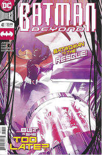 Cover for Batman Beyond (DC, 2016 series) #41