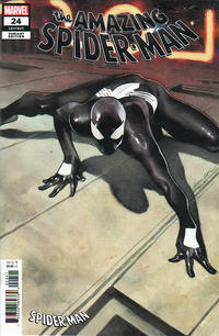 Cover for Amazing Spider-Man (Marvel, 2018 series) #24 (825) [Variant Edition - Symbiote Suit - Olivier Coipel Cover]