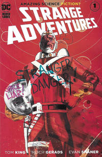 Cover Thumbnail for Strange Adventures (DC, 2020 series) #1 [Mitch Gerads Cover]