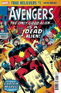 Cover Thumbnail for True Believers: Empyre - Mar-Vell (Marvel, 2020 series) #1