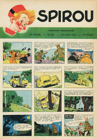 Cover Thumbnail for Spirou (Dupuis, 1947 series) #637