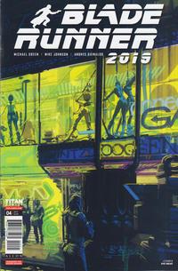 Cover Thumbnail for Blade Runner 2019 (Titan, 2019 series) #4 [Cover B]